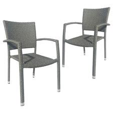 Stelis PE Wicker Chairs (Set of 2)