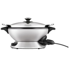 Smart Pro Electric Wok with Steamer