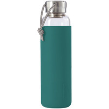 600ml Glass Water Bottle with Silicone Sleeve