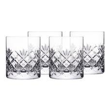 Stuart York Crystal Tumblers (Set of 4)