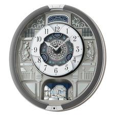 Grey Seiko Musical Wall Clock