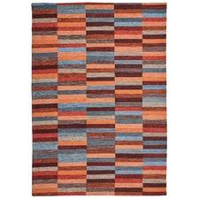 Multi Coloured Afeeza Bricks Rug