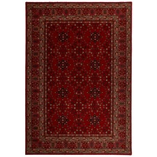 Bordo Royal Afghan Rug