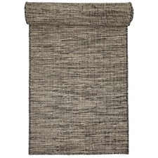 Taupe Pronto Wool & Cotton Runner