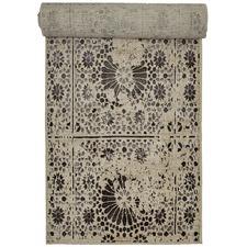 Grey Vintage-Style Oriental Rug