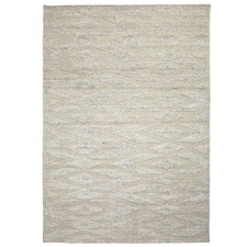 Snow Sand Dunes Hand-Crafted Rug