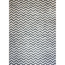 Grey Parker Hand-Knotted Cotton Rug