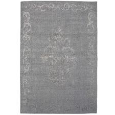 Light Grey Vienna Hand-Woven Wool-Blend Rug