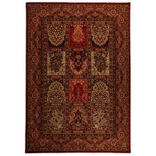Red Sheeka Oriental New Zealand Wool Rug