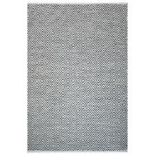 Grey Francis Hand-Woven Cotton Rug