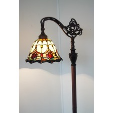 Tiffany Single Light Floor Lamp