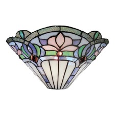 Floral Tiffany Wall Sconce