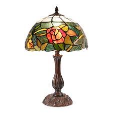 Romantic Rose Tiffany Bedside Lamp