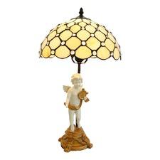 Raindrop Angel Tiffany Bedside Lamp