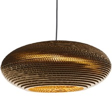 Graypants Scraplight Moon Replica Disc Pendant Light