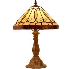Retro Pastoral Tiffany Style Table Lamp