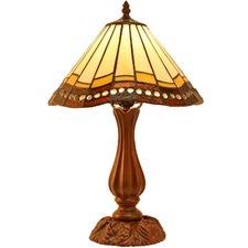 Retro Pastoral Tiffany Style Wave Edge Table Lamp