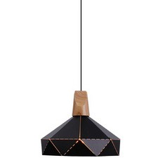 Sleek Industrial Style Geo Pendant Light