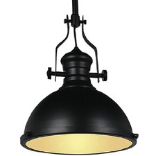 Vintage Style Black French Kitchen Metal Pendant Light