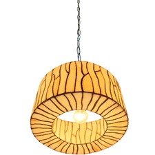 Minimalist Drum Shade Tiffany Style Pendant Light