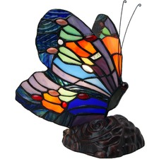 Myrtle Tiffany Style Butterfly Table Lamp