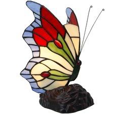 Isla Tiffany Style Butterfly Table Lamp