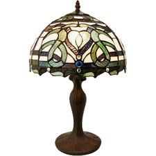 Victorian Leadlight Tiffany Style Table Lamp