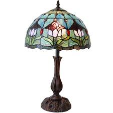 Tulip Tiffany Style Table Lamp