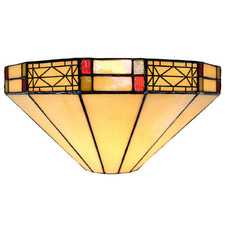 Mission Tiffany-Style Wall Lamp