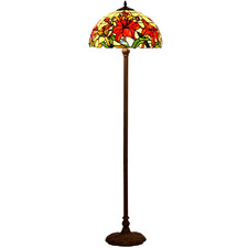Lily Tiffany-Style Floor Lamp