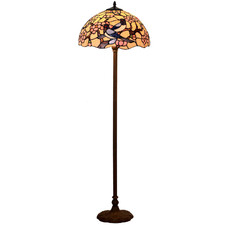 Cherry Blossom Tiffany-Style Floor Lamp