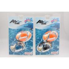 Set of 2 Mini Water Footballs