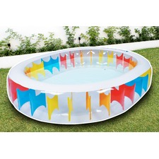 Airtime Oval Rainbow Pool