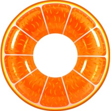 Orange Fruit Tingle Inflatable Swim Ring
