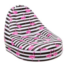 Flamingo Stripe Inflatable Pool Chair