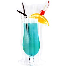 Giant Blue Lagoon Cocktail Pool Float