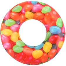 Jelly Bean Inflatable Swim Ring