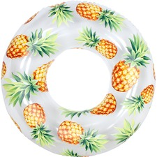 Ultra Clear Pineapple Fruit Swim Ring