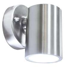 Raglan LED Exterior Wall Light in Stainless Steel
