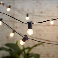 DIY Festoon Party Lights