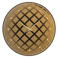 43cm Copper Pendula Wall Clock