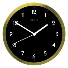 44cm Round Sissi Metal Wall Clock