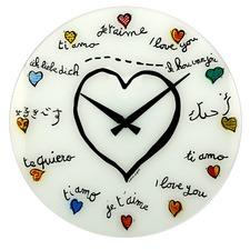 Printed Loving You Wall Clock