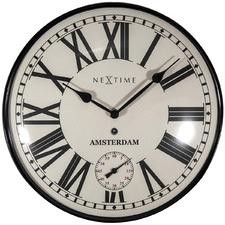30cm NeXtime Amsterdam Dome Wall Clock