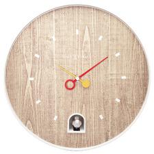 Neutral NeXtime Nightingale Plastic Wall Clock