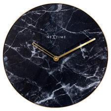 NeXtime Marble Glass Wall Clock