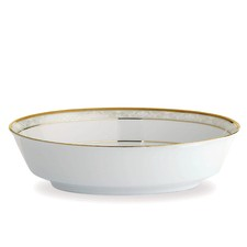 Hampshire Gold Oval Vegetable Bowl