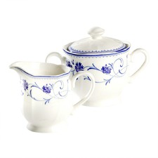 Rhapsody Blue Sugar and Creamer Set