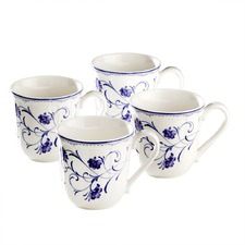 Rhapsody Blue 4 Mug Set