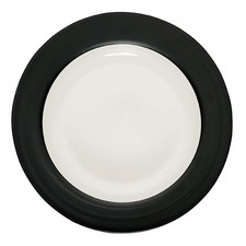 Colorwave Graphite 27cm Rim Dinner Plate (Set of 2)